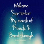 A Prayer For September