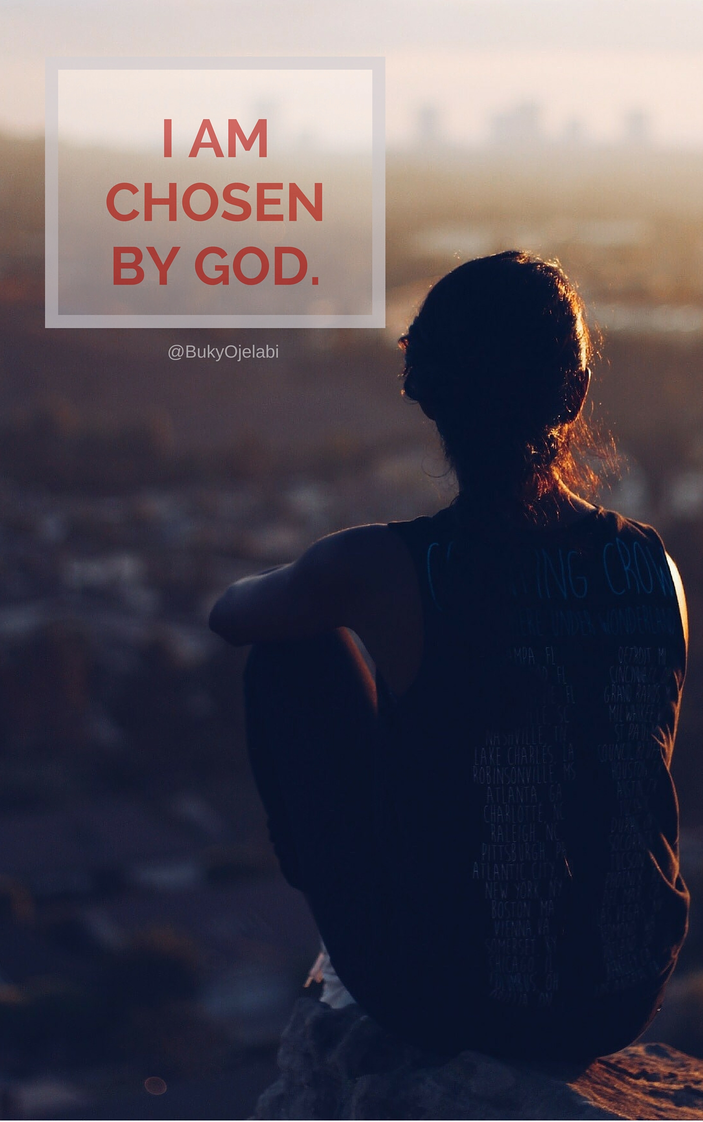 I AM CHOSEN BY GOD