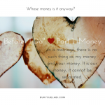 "Before ""I DO"" – Part 1Money"