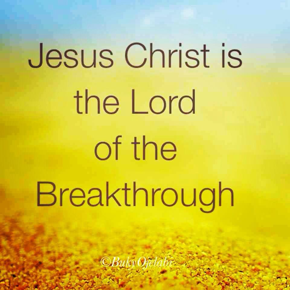 Lord of the breakthrough