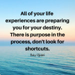 There Is Purpose In The Process