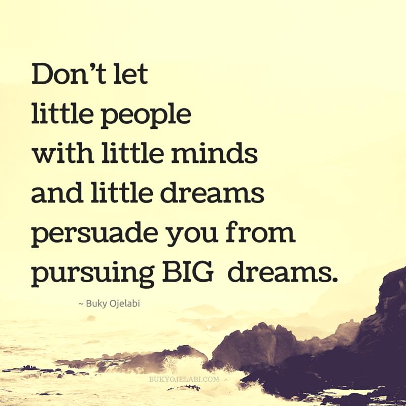 Llittle people, little mind, little dreams