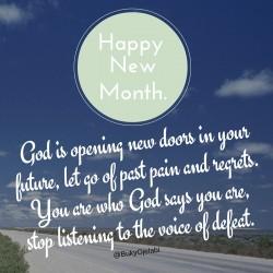 Prayer For November