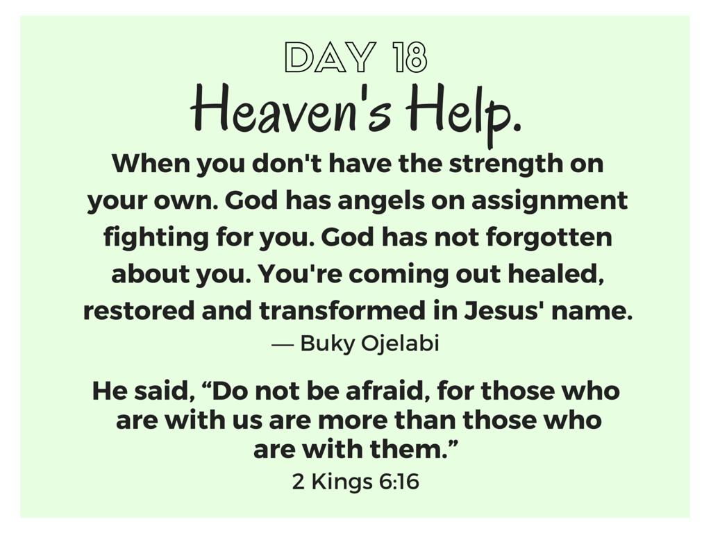 Heaven's Help