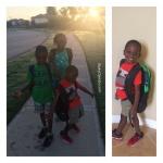 Joshua Is Off To Kindergarten